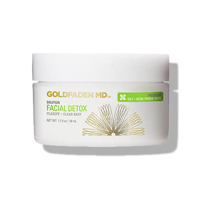 GOLDFADEN FACIAL DETOX CLARIFY + CLEAR MASK