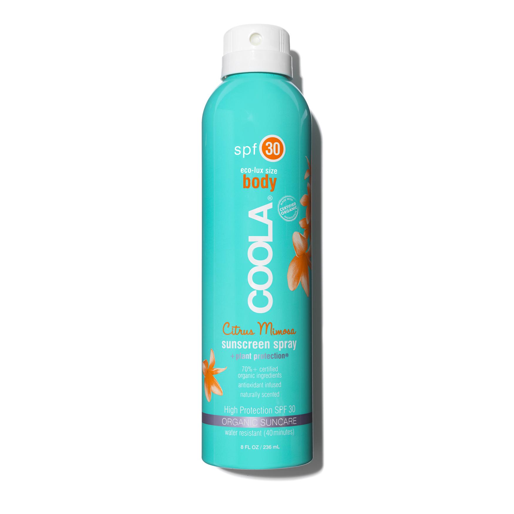 Eco-Lux SPF 30 Citrus Mimosa Sunscreen Spray, , large