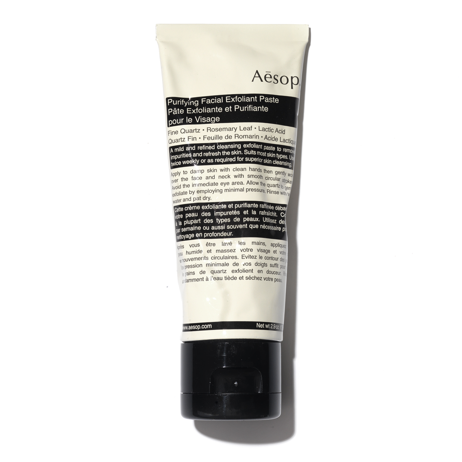 Purifying Facial Exfoliant Paste, , large