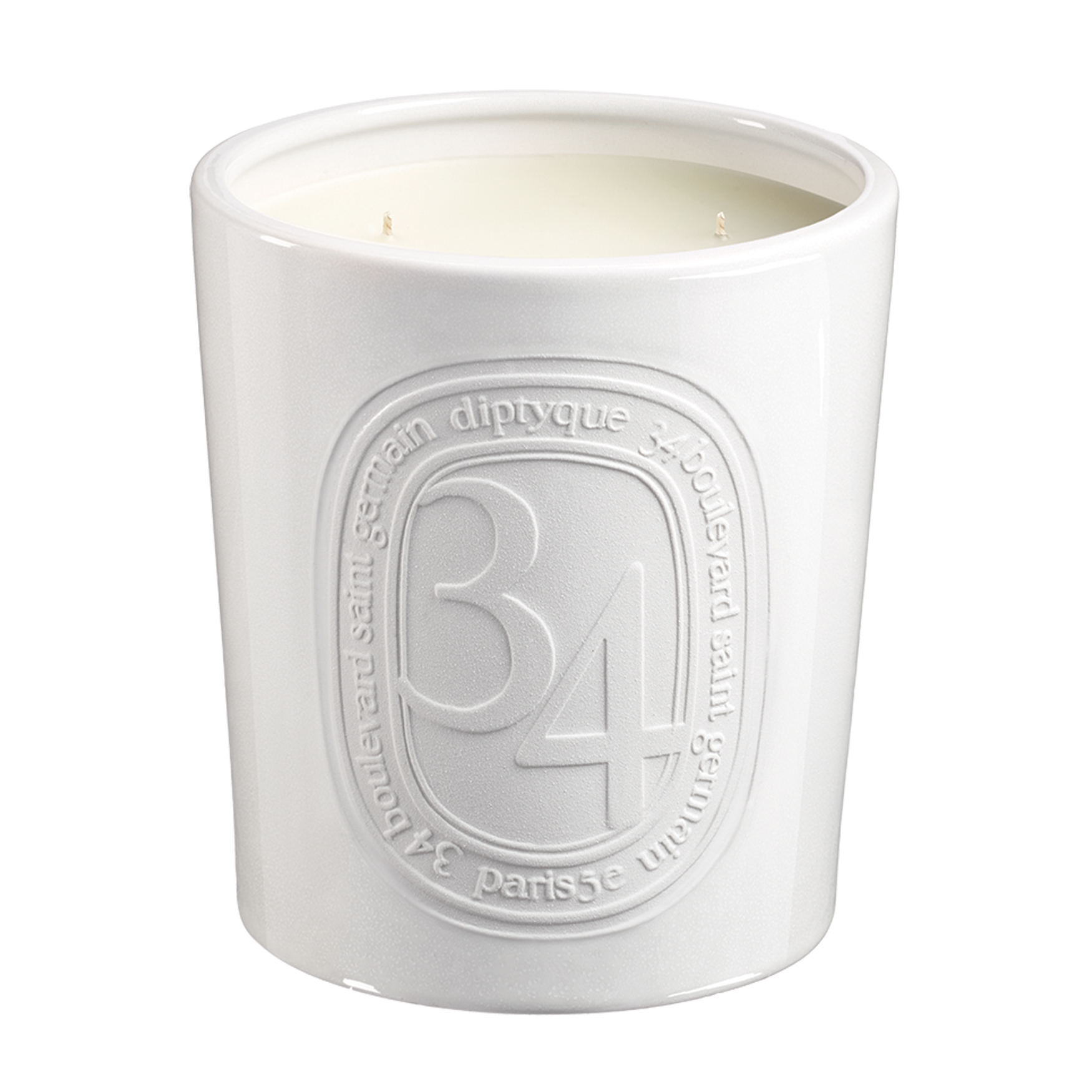 34 Blvd St.germain Scented Candle Large, , large