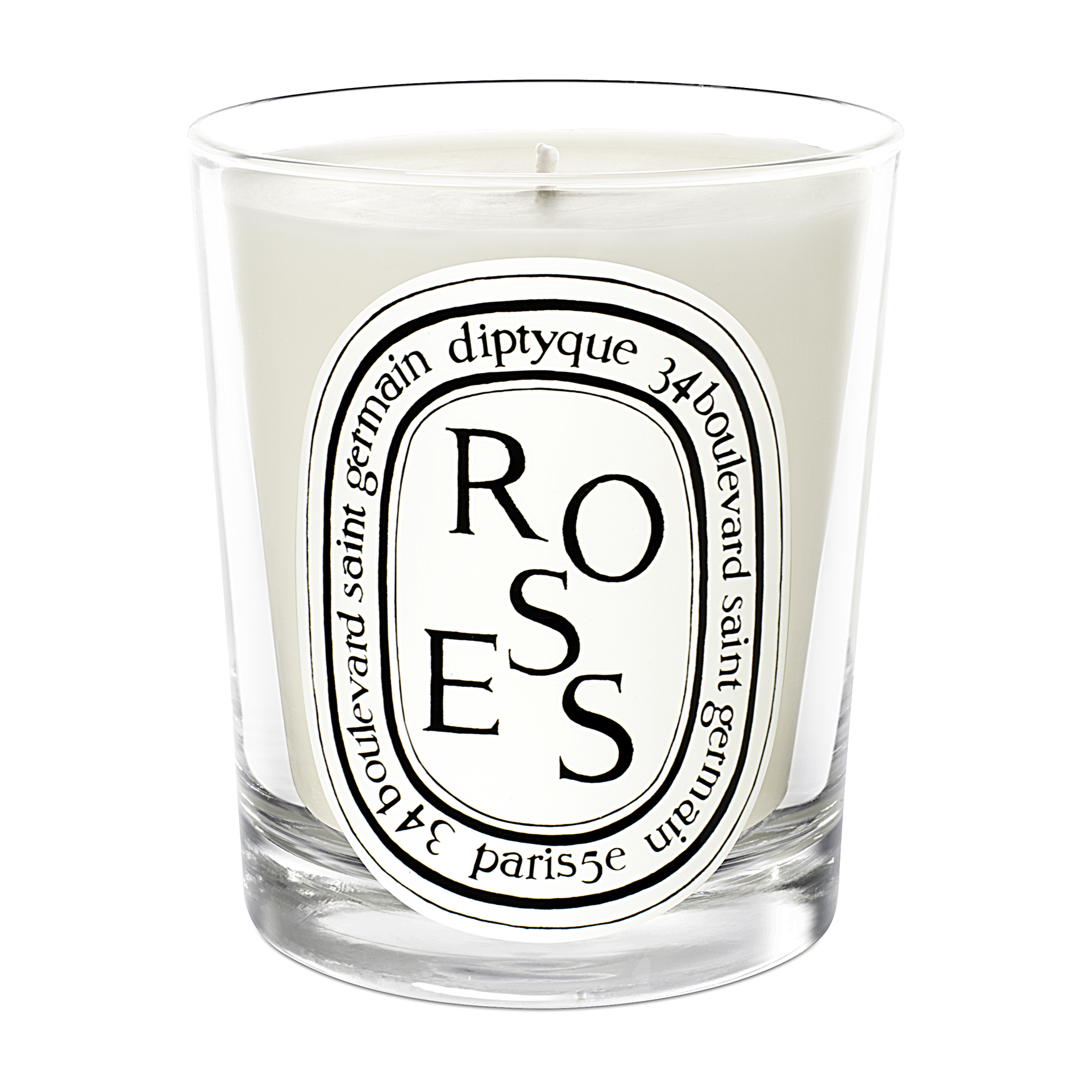 Roses Scented Candle 6oz, , large