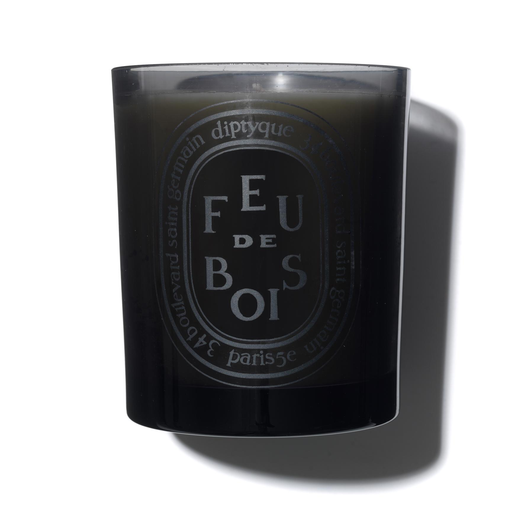Feu de Bois Coloured Scented Candle, , large