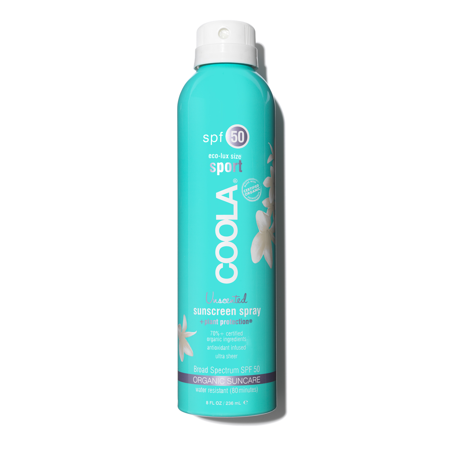 Eco-Lux SPF 50 Unscented Sunscreen Spray, , large