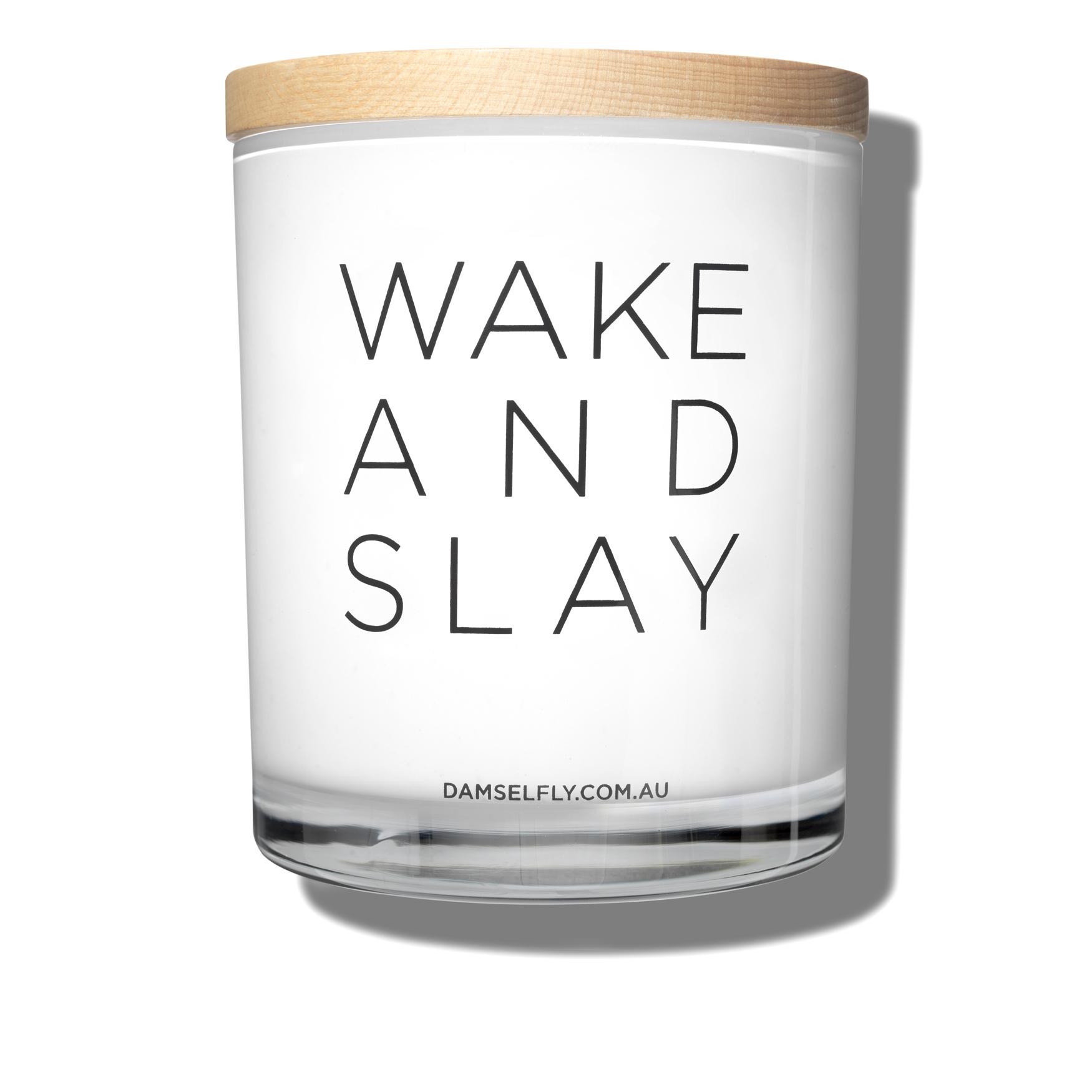 Wake And Slay Candle, , large