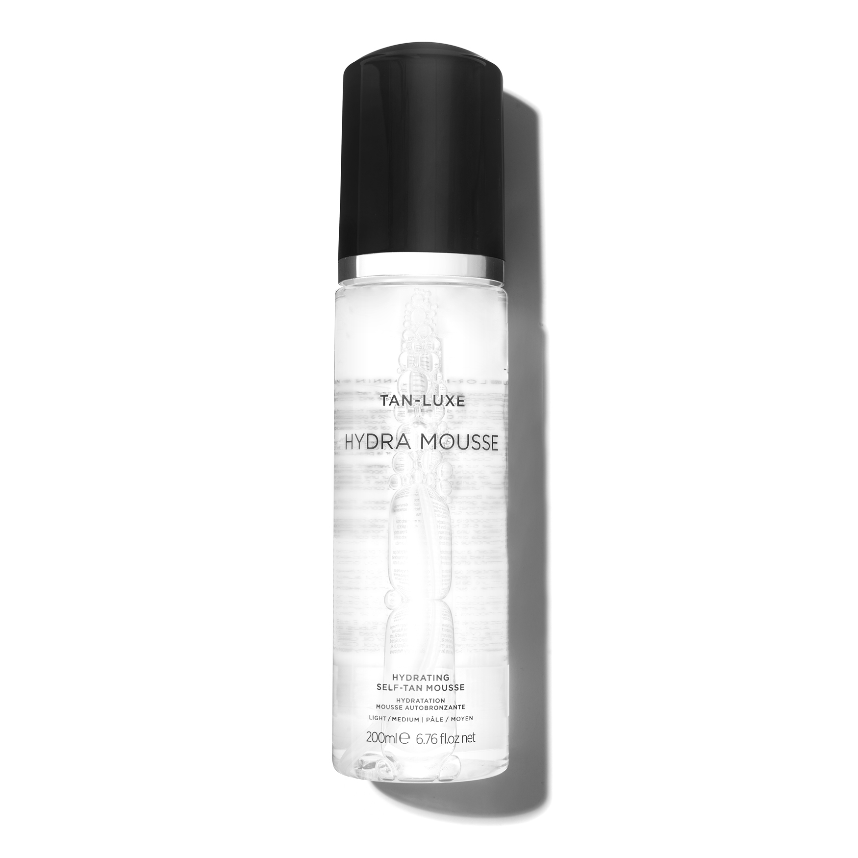 Hydra-Mousse Hydrating Self-Tan Mousse, LIGHT/MEDIUM 200ML, large