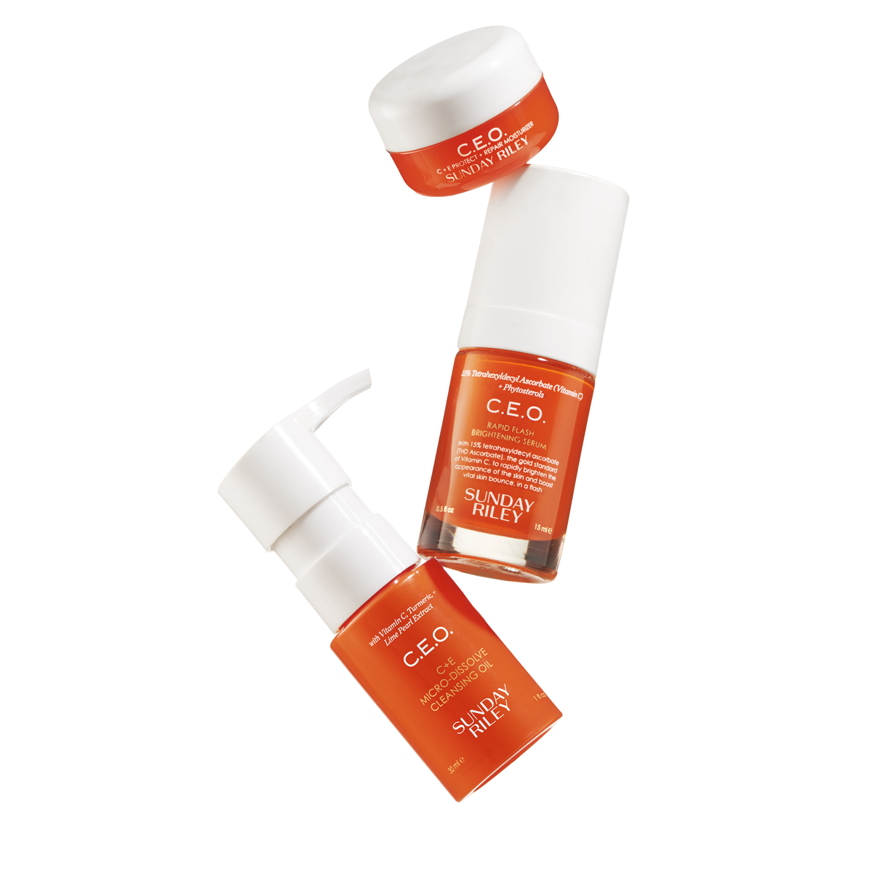 Sunday Riley Vitamin C Collection Set Spacenk Usd Twin Pack Ovale Micellar Water Brightening 200ml
