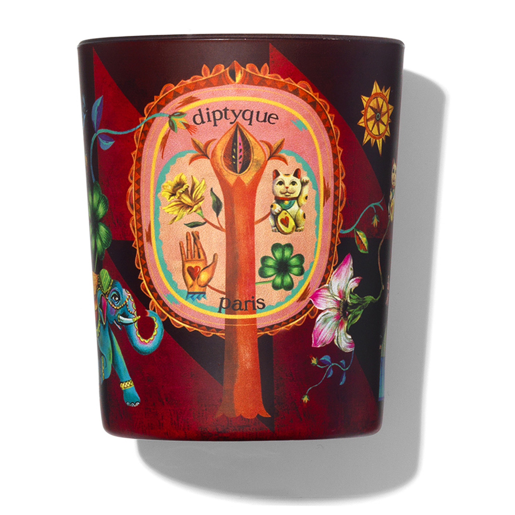 Lucky Flower Candle, , large
