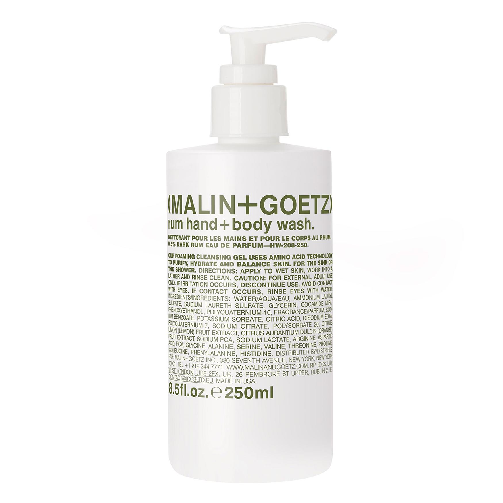 Rum Hand Wash Pump Malin Goetz Buy 1 Get Natur E Daily Nourishing Lotion 100 Ml I Handbody