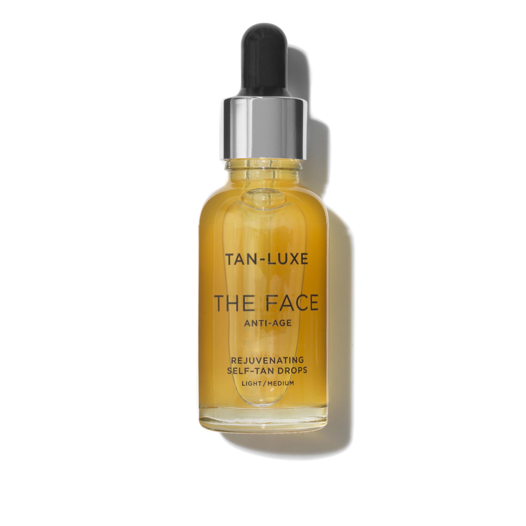 The Face Anti-Age Tan Drops, LIGHT/MEDIUM 30ML, large
