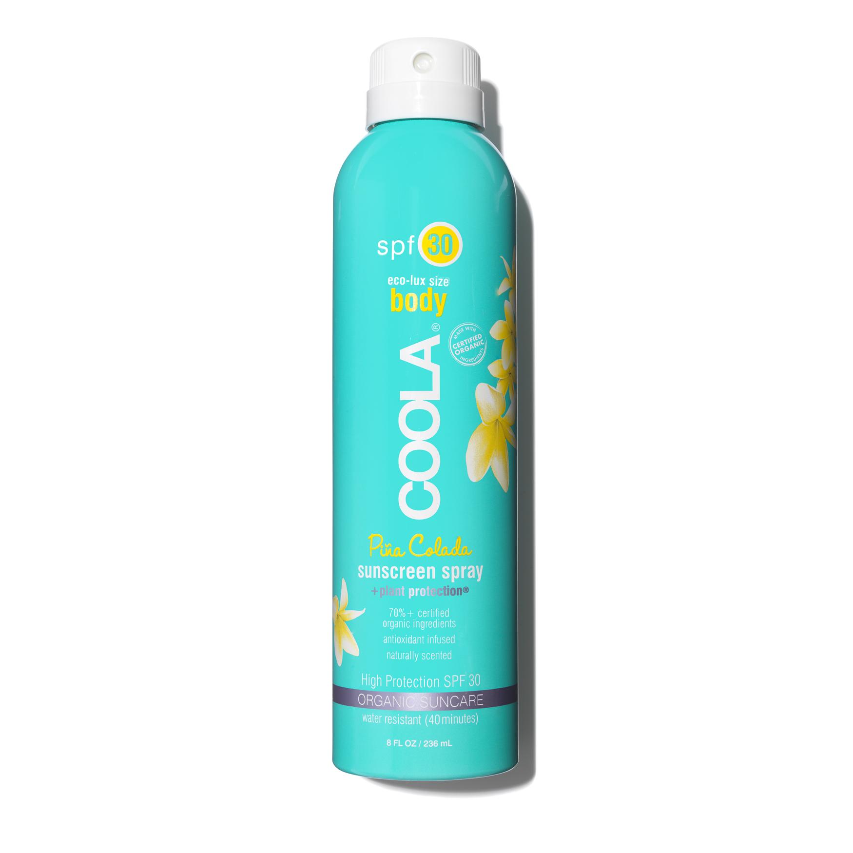 Eco-Lux SPF30 Pina Colada Sunscreen Spray, , large