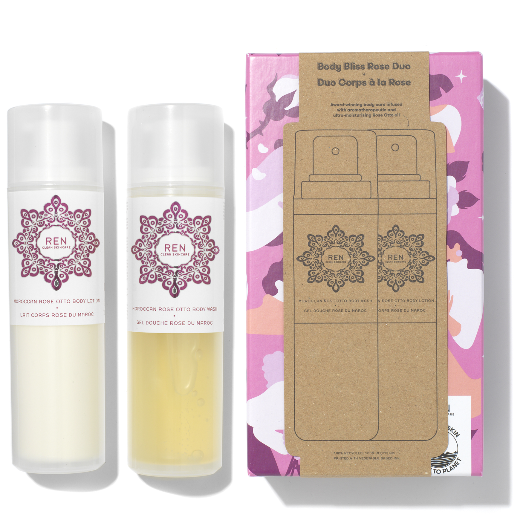 Body Bliss Rose Duo, , large