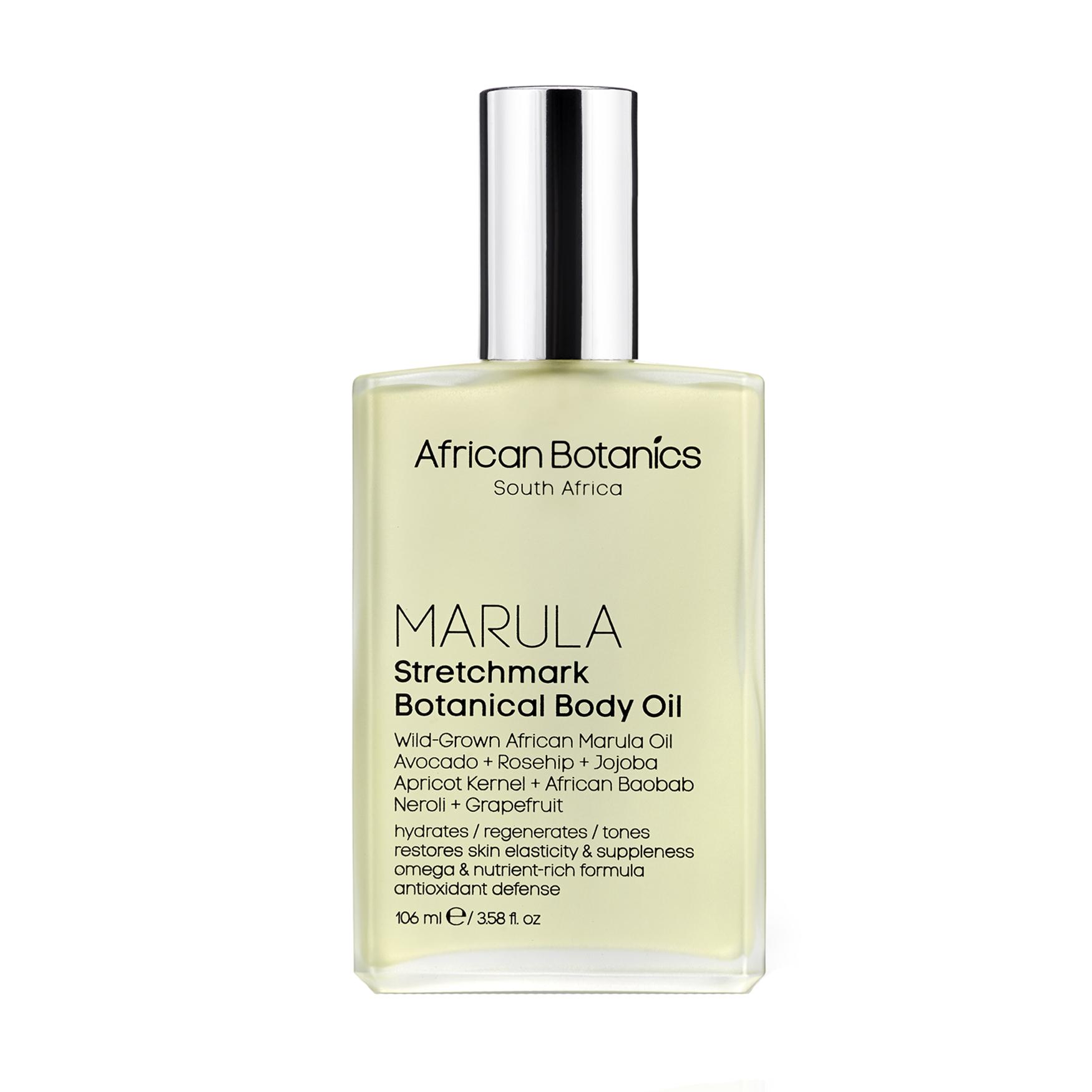 Marula Stretchmark Botanical Body Oil, , large