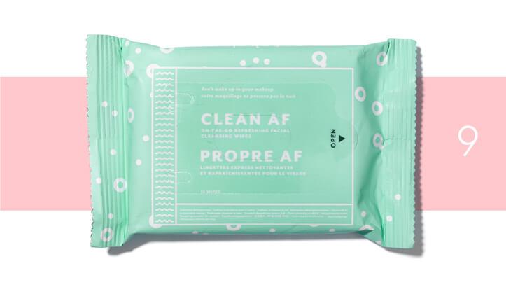 Clean AF Cleansing Wipes