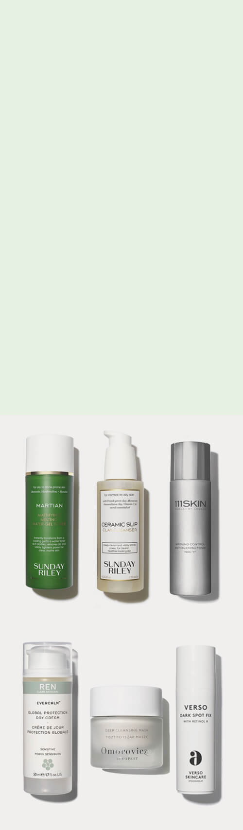 Acne Skincare Edit